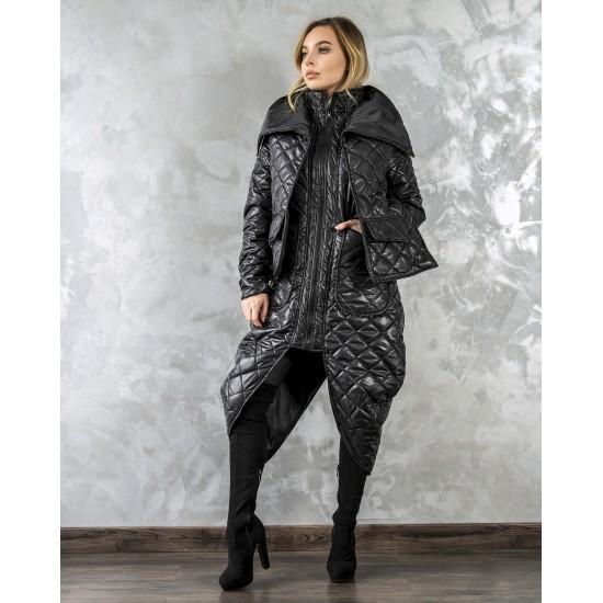 Уникално дълго яке